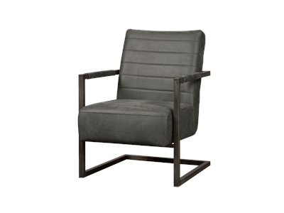 Fauteuil Rocca - Antraciet